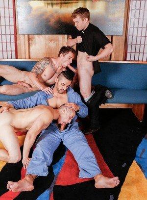 Big Dicked Gay Arad,Markie More,Gabriel Cross,Dante Martin,