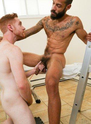 Hunky Gay Leander,Dylan Henri,