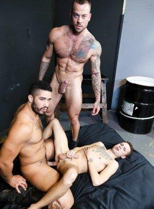 Naked Gay Sean Christopher,Sean Duran,Trey Turner,