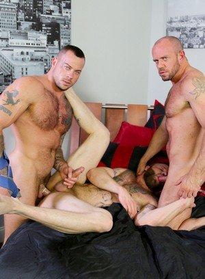 Cocky Boy Derek Parker,Matt Stevens,Sean Duran,