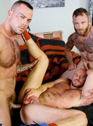 Horny Gay Derek Parker,Matt Stevens,Sean Duran,