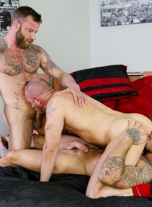 Seductive Man Derek Parker,Matt Stevens,Sean Duran,