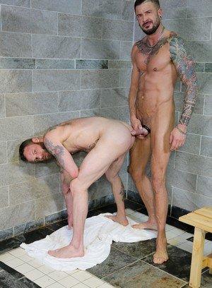 Hunky Gay Dolf Dietrich,Derek Parker,