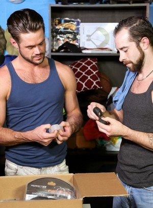 Hot Gay Blake Ramsey,Mike De Marko,