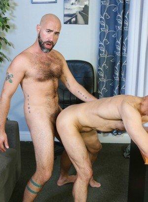 Hunky Gay Damon Andros,Rodney Steele,