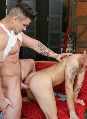 Naked Gay Trenton Ducati,Trent Ferris,