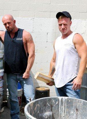 Hot Gay Saxon West,Matt Stevens,