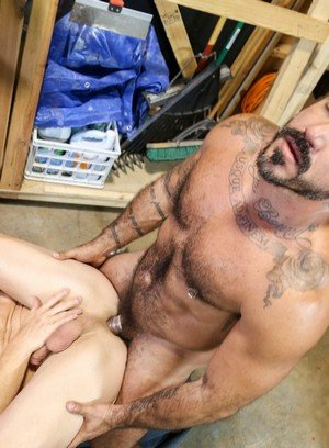 Hunky Gay Saxon West,Alessio Romero,