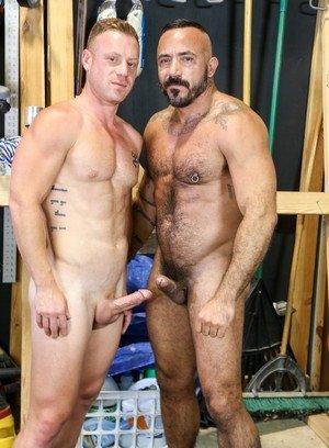Cock Hungry Dude Saxon West,Alessio Romero,