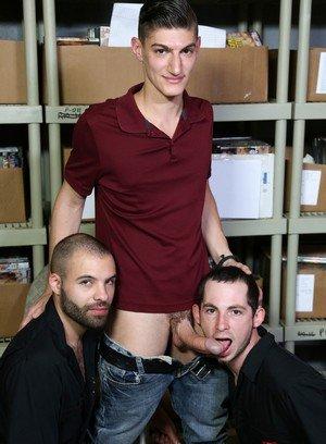 Big Dicked Gay Braxton Smith,Toby Springs,Aiden Ward,