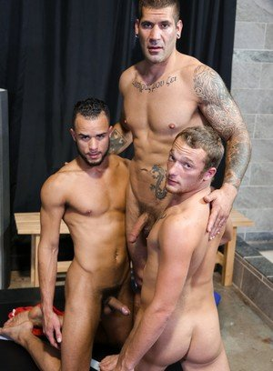 Naked Gay Caleb Troy,Javier Cruz,