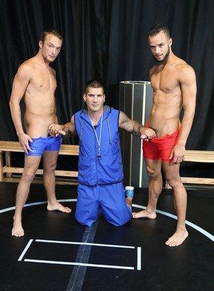 Big Dicked Gay Caleb Troy,Javier Cruz,