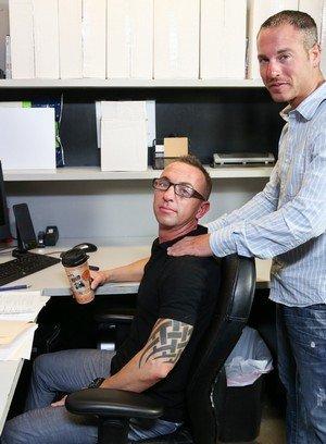 Sexy Dude Jordan Belford,Matt Hart,
