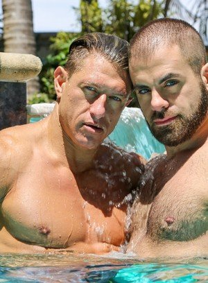 Muscle man Bryce Evans,Marcus Isaacs,