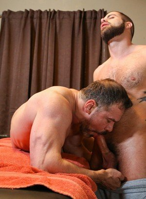 Sexy and confident Marcus Isaacs,Max Sargent,