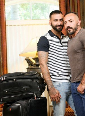 Hot Gay Alessio Romero,Rikk York,