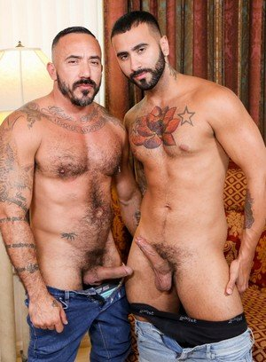 Big Dicked Gay Alessio Romero,Rikk York,