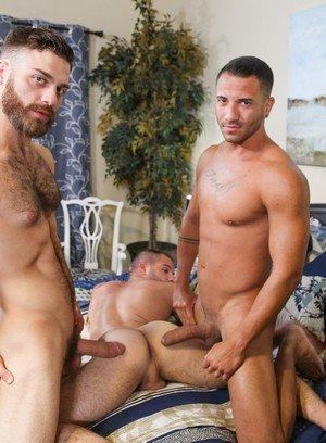 Muscle man Mario Costa,Tommy Defendi,Braxton Smith,