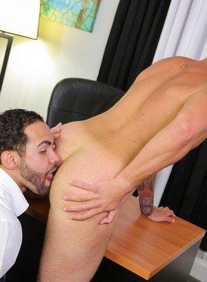 Sexy and confident Marxel Rios,Alejandro Fusco,