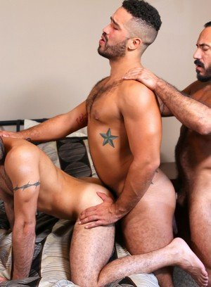 Naked Gay Braxton Smith,Alessio Romero,Trey Turner,