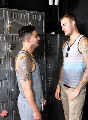 Sexy Guy Christian Wilde,Hunter Vance,