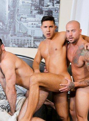 Hunky Gay Sean Duran,Seth Santoro,Billy Santoro,