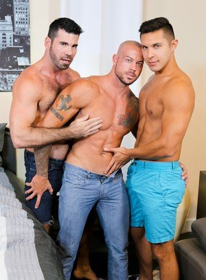 Cock Hungry Dude Sean Duran,Seth Santoro,Billy Santoro,