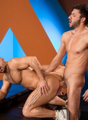 Naked Gay Scott Demarco,Bruno Bernal,