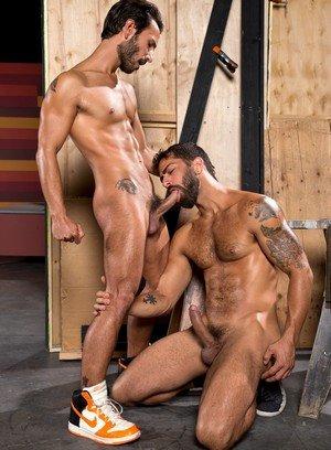 Sexy and confident Adam Ramzi,Mark Sanz,
