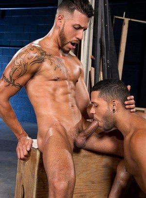 Sexy and confident Fx Rios,Max Gianni,
