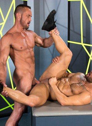 Hunky Gay Bruno Bernal,Myles Landon,