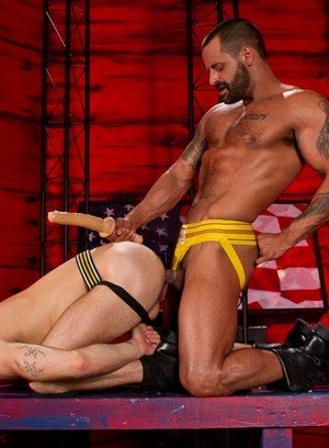 Naked Gay David Benjamin,Shawn Wolfe,