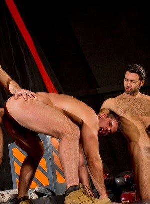 Hunky Gay Sebastian Kross,Derek Atlas,David Benjamin,Dario Beck,
