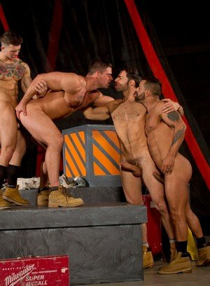 Horny Gay Dario Beck,Sebastian Kross,Derek Atlas,David Benjamin,