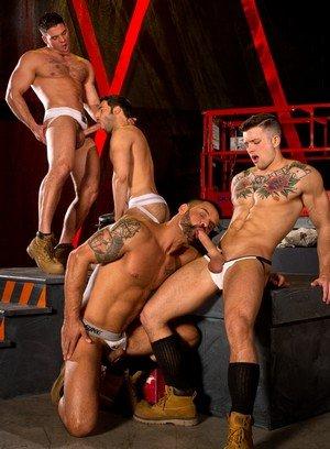 Cute Gay Sebastian Kross,Derek Atlas,David Benjamin,Dario Beck,