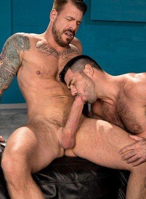 Muscle man Billy Santoro,Rocco Steele,