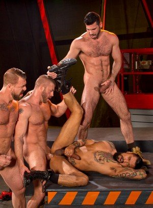 Hunky Gay Hunter Marx,Rocco Steele,Billy Santoro,Boomer Banks,