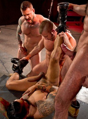 Cocky Boy Hunter Marx,Rocco Steele,Billy Santoro,Boomer Banks,