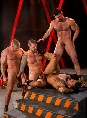 Horny Hunter Marx,Boomer Banks,Billy Santoro,Rocco Steele,