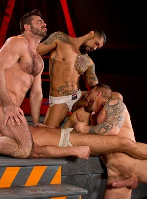 Handsome Guy Hunter Marx,Rocco Steele,Billy Santoro,Boomer Banks,