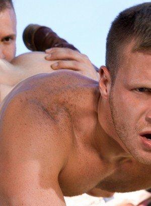Hunky Gay Austin Wolf,Brian Bonds,