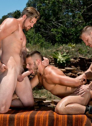 Hunky Gay Andrew Stark,Nick Sterling,Brian Bonds,