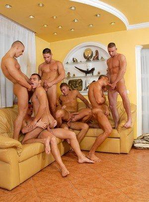 Big Dicked Gay Enrico Belaggio,Steve Hunt,Joshua Rodgers,Rick Bauer,