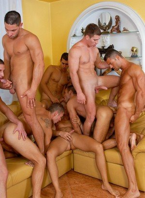 Big Dicked Gay Joshua Rodgers,Rick Bauer,Enrico Belaggio,Steve Hunt,