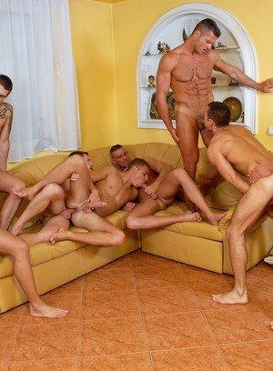 Sexy and confident Rick Bauer,Joshua Rodgers,Steve Hunt,Enrico Belaggio,