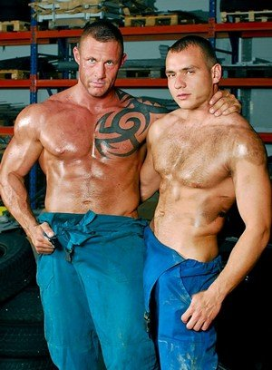 Horny Gay Steve Hunt,Jack Dragon,