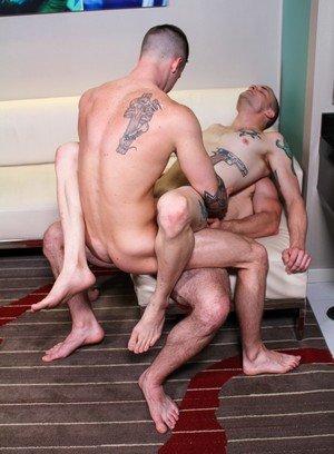Naked Gay Quentin Gainz,Colton Phobos,Ivan James,