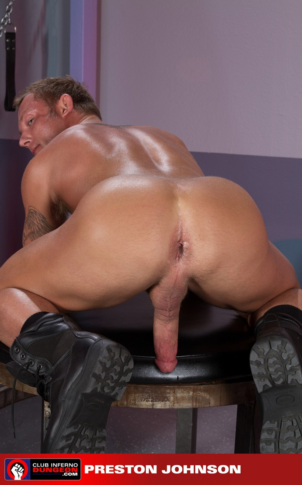 Preston Johnson porno gay