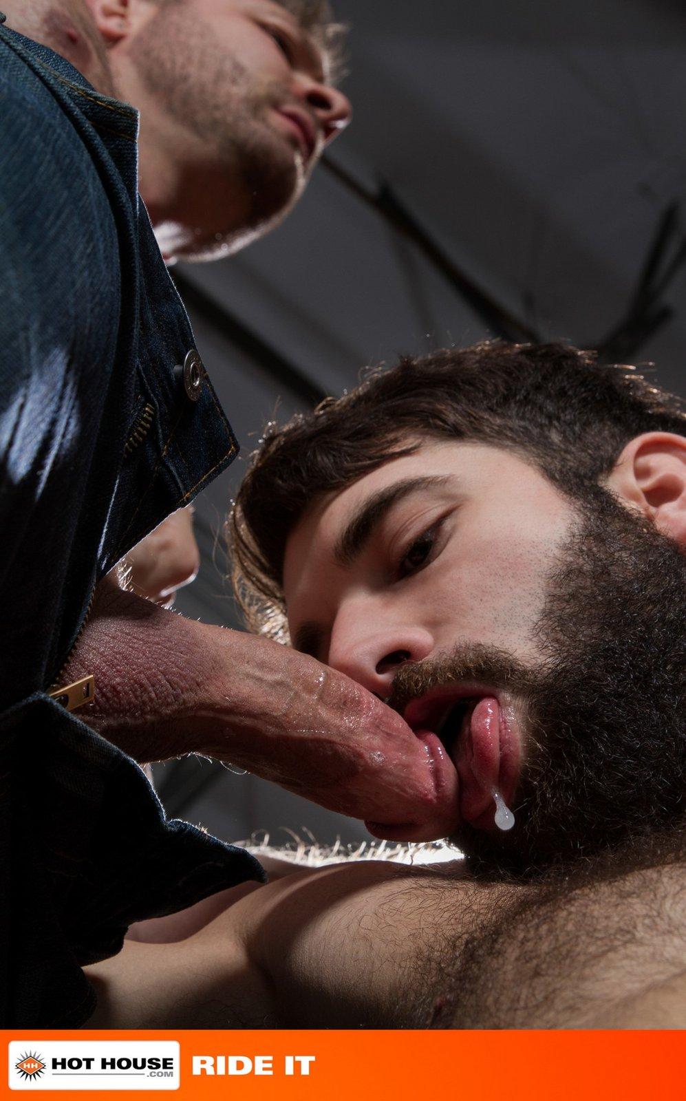порно бородатый мужчина сообщалось