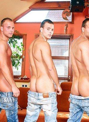 Hot Gay Brandon Steel,Joey Visconti,Jimmy Visconti,Jason Visconti,